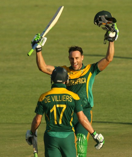 2014 Triangular Series, Game 2: South Africa v Australia