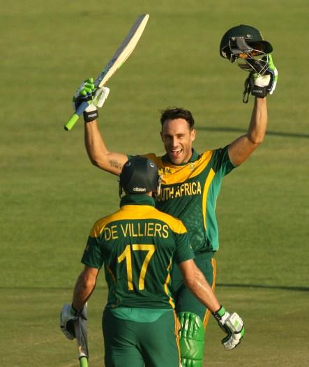 2014 Triangular Series, Game 2: South Africa v Australia