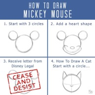 how-to-draw-mickey-mouse