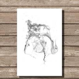 darth-vader-smoke-art-minimalist-print-white