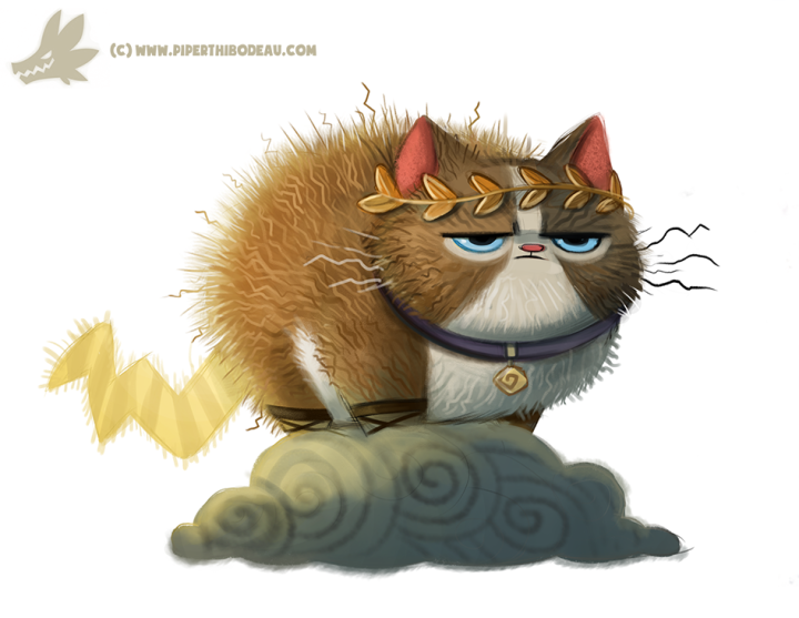 daily_paint__1032__zeus_cat_by_cryptid_creations-d9a2vd5