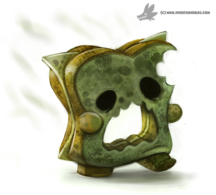 daily_painting__947__mold_zombie__og__by_cryptid_creations-d8ys070