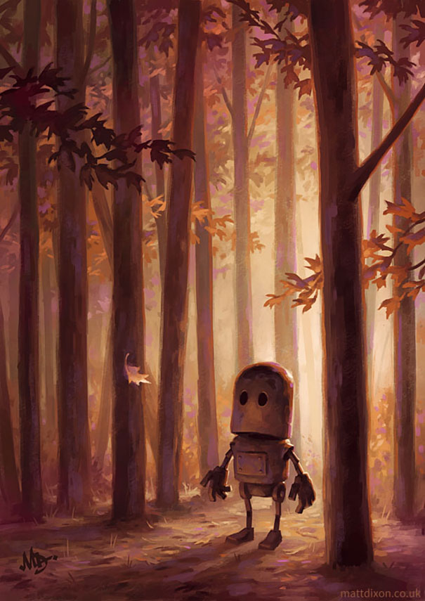 Paintings-of-lonely-robots-experiencing-the-quiet-wonder-of-the-world5__605