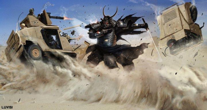 sp___samurai_vs_a_hummer___by_adonihs-d3cih4j