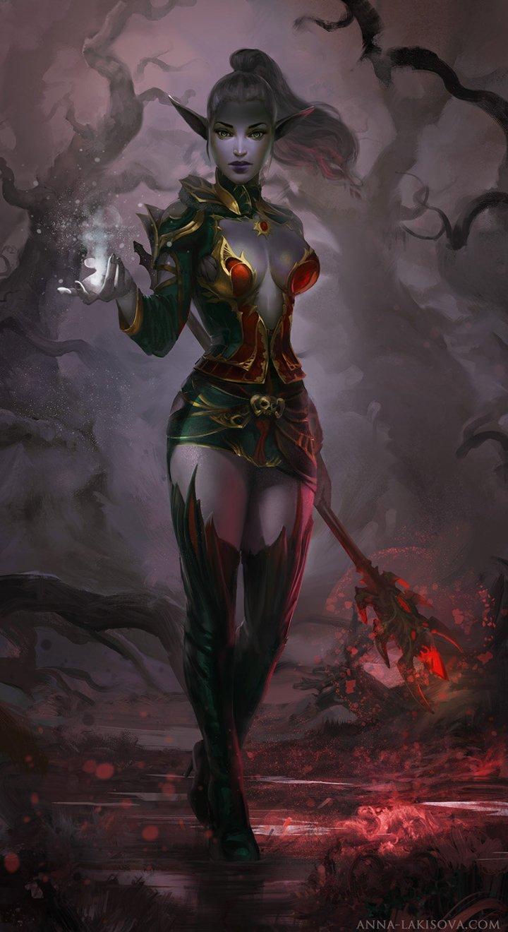 anna-lakisova-dark-elf-by-lakisova